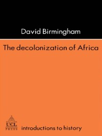 Cover Decolonization Of Africa