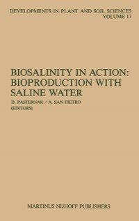 Cover Biosalinity in Action: Bioproduction with Saline Water
