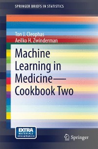 Cover Machine Learning in Medicine - Cookbook Two