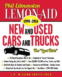 Cover Lemon-Aid New and Used Cars and Trucks 1990–2016
