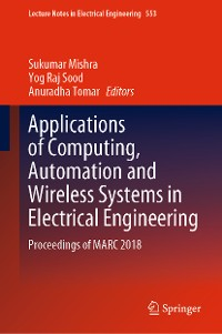 Cover Applications of Computing, Automation and Wireless Systems in Electrical Engineering