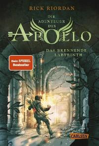 Cover Die Abenteuer des Apollo 3: Das brennende Labyrinth