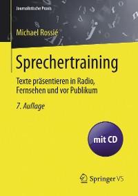 Cover Sprechertraining