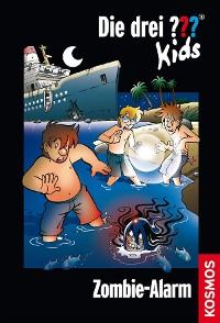 Cover Die drei ??? Kids, Band 54, Zombie-Alarm (drei Fragezeichen Kids)