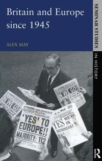 Cover Britain and Europe since 1945