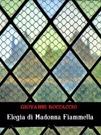 Cover Elegia di Madonna Fiammetta