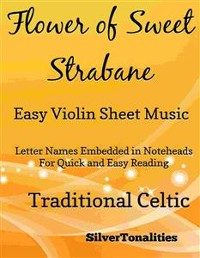Cover Flower of Sweet Strabane Easy Violin Sheet Music