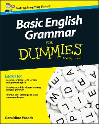 Cover Basic English Grammar For Dummies - UK, UK Edition