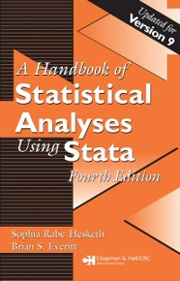 Cover Handbook of Statistical Analyses Using Stata