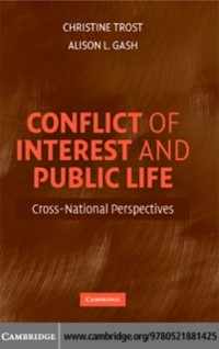 Cover Conflict of Interest and Public Life