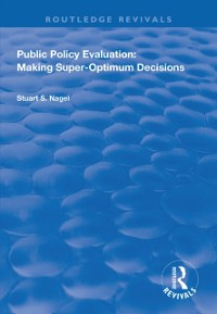 Cover Public Policy Evaluation