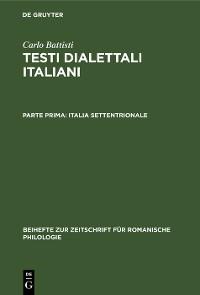 Cover Italia settentrionale