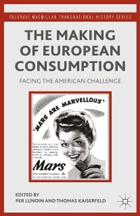 Cover The Making of European Consumption