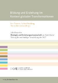 Cover Bildung und Erziehung im Kontext globaler Transformationen