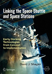 Cover Linking the Space Shuttle and Space Stations