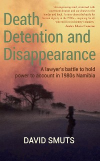 Cover Death, Detention and Disappearance