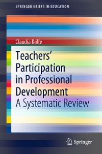 Cover Teachers' Participation in Professional Development