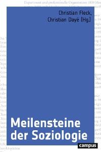 Cover Meilensteine der Soziologie