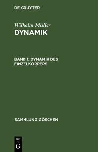 Cover Dynamik des Einzelkörpers
