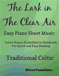 Cover Lark in the Clear Air Easy Piano Sheet Music