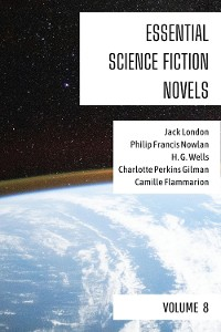 Cover Essential Science Fiction Novels - Volume 8