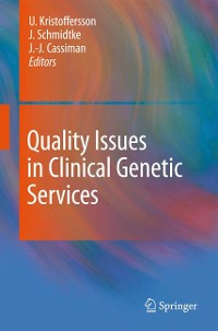 Cover Quality Issues in Clinical Genetic Services