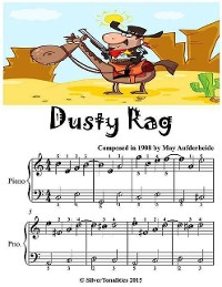 Cover Dusty Rag - Easiest Piano Sheet Music Junior Edition