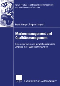 Cover Markenmanagement und Qualitatsmanagement