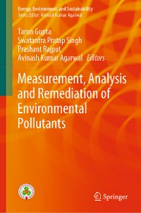 Cover Measurement, Analysis and Remediation of Environmental Pollutants