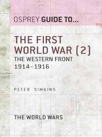 Cover The First World War, Volume 2