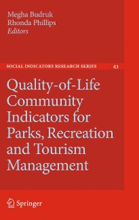 Cover Quality-of-Life Community Indicators for Parks, Recreation and Tourism Management