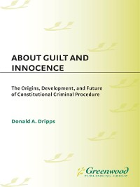 Cover About Guilt and Innocence