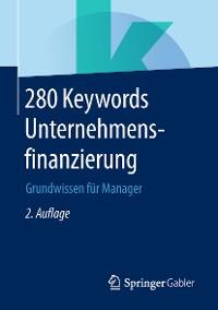 Cover 280 Keywords Unternehmensfinanzierung