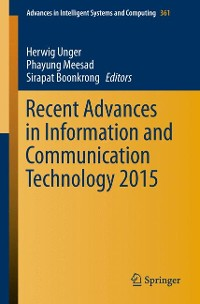 Cover Recent Advances in Information and Communication Technology 2015