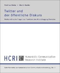 Cover Twitter und der öffentliche Diskurs