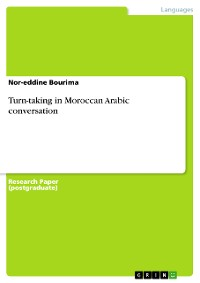Cover Turn-taking in Moroccan Arabic conversation