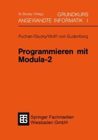 Cover Programmieren mit Modula-2