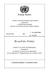 Cover Treaty Series 2929/Recueil des Traités 2929