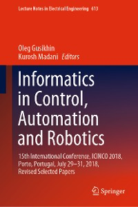 Cover Informatics in Control, Automation and Robotics