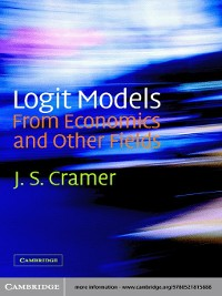 Cover Logit Models from Economics and Other Fields
