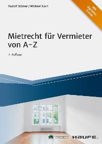 Cover Mietrecht für Vermieter von A-Z - inkl. Arbeitshilfen online
