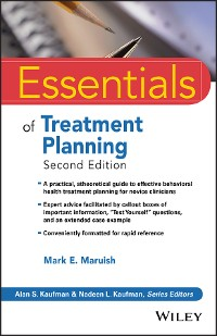 Cover Essentials of Treatment Planning