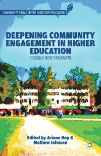 Cover Deepening Community Engagement in Higher Education