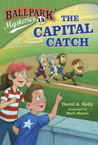 Cover Ballpark Mysteries #13: The Capital Catch