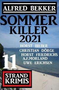 Cover Sommer Killer 2021: 11 Strand Krimis