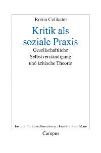 Cover Kritik als soziale Praxis