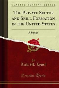 Cover The Private Sector and Skill Formation in the United States