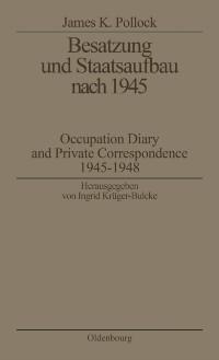 Cover Besatzung und Staatsaufbau nach 1945