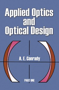 Cover Applied Optics and Optical Design, Part One