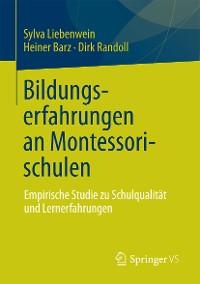 Cover Bildungserfahrungen an Montessorischulen